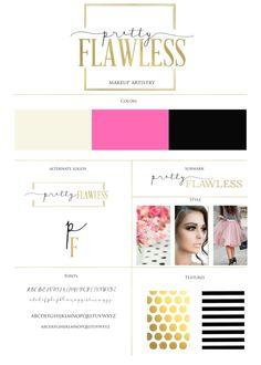Custom Brand Design - Custom Business Logo - Custom Branding - Blog Kit -  Branding Design - Brand Color Palette - Font Files