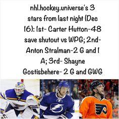 Other honorable mentions include Alex Ovechkin and Pekka Rinne. #carterhutton #stlouisblues #stlouis #blues #antonstralman #tampabaylightning #tampabay #tampa #lightning #bolts #shaynegostisbehere #philadelphiaflyers #philadelphia #flyers #philly #nhlhockey #nhl #hockey @hutts40 @stlouisblues @tblightning @philadelphiaflyers @nhl