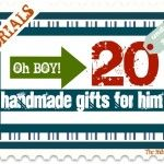 SHUT UP! 20 not-lame handmade gifts for guys - laptop desk, here we come!