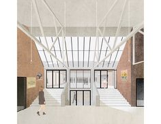 Kortrijk Weide dance hall by Dierendonckblancke Architects