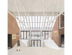 Kortrijk Weide dance hall by Dierendonckblancke Architects