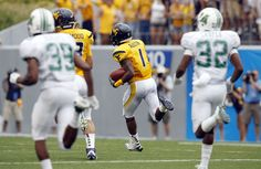 The 2011 Friends of Coal Bowl saw WVU's Tavon Austin return a kick for a touchdown, an astounding 4 hours and 22 minutes in weather delays, and the Mountaineers earn a game-shortened 34-13 victory over the Thundering Herd at Mountaineer Field. It was WVU's eleventh victory over Marshall without a loss.