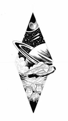 Get this for sure on upper arm in color Kunst Tattoos, Bild Tattoos, Body Art Tattoos, Tattoo Sketches, Tattoo Drawings, Art Sketches, Space Drawings, Cute Drawings, Alien Tattoo