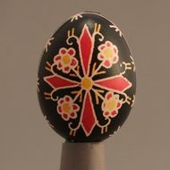 Decorated eggs imported from the Czech Republic. Egg Decorating, Traditional Design, Czech Republic, Eggs, Handmade, Gifts, Hand Made, Presents, Egg