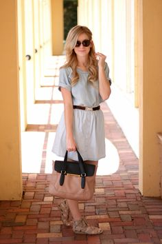 Chambray On Chambray | A Daydream Love