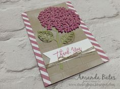 The Craft Spa - Stampin' Up! UK independent demonstrator : Thoughtful Branches Hydrangea