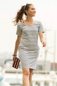 gratis Schnittmuster Kleid für Damen von La Maison Victor