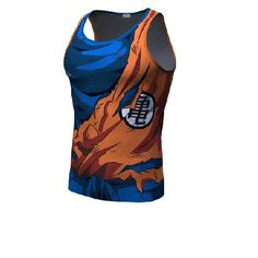 7fa47cddcd28a Goku Tank Battle Torn Armor. Fellow tees