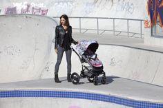 Britax affinity Jungle Boogie:  Der Streetart Kinderwagen für den Großstadt Dschungel.   #urbanart #Graffiti