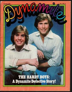 I flipping LOVED Dynamite magazine...and Parker Stevenson ;)