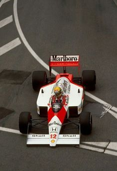 Senna - Mclaren Honda MP4-4 1988
