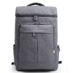Cool Laptop Backpacks for Men College Bag DICKFIST 9065   PRODUCT specifications - Brand – DICKFIST  (Made in Korea) - Laptop Compartment - Condition – New with tags - Material – Polyester - Color – Black | Gray | Blue - Weight – 900 g Product Features - Large zip compartments - Front 2 zip pockets and Side 2 zip pockets [...]