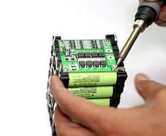 DIY Professional 18650 Battery Pack: 12 Steps (with Pictures) Electronics Components, Diy Electronics, Electronics Projects, Arduino, Energy Use, Solar Energy, Solar Power, Wind Power, Types Of Renewable Energy