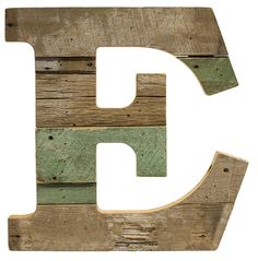 Cypress Barnwood Letter E - Paul Michael Company   Recycled Wood Letter S These Paul Michael Company Exclusive pieces are designed and made by hand in our Dermott, AR woodshop