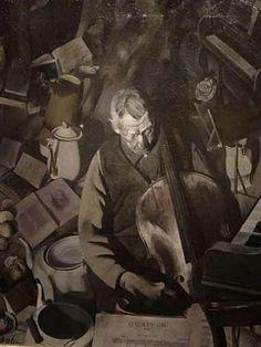 The Cello Player   Edwin Dickinson
