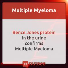 Know the protein that confirms multiple myeloma. --- Visit…