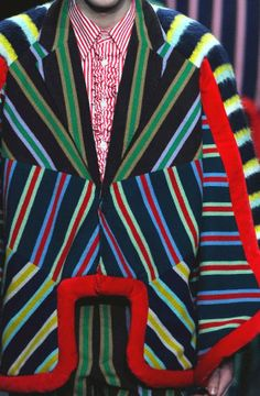 patternprints journal: PRINTS, PATTERNS, TEXTURES AND DETAILS FROM THE RECENT PARIS FASHION WEEK (FALL/WINTER 2014/15 MENSWEAR) / Walter Van Beirendonck.