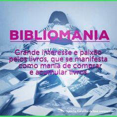 Você é portador de Bibliomania? Nos conte se sim! 8-)  #BomDia, amados leitores!!! Uma linda semana já começou!!! ;-)