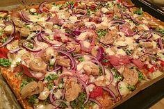 Beste und einfachste Low Carb Pizza