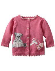 girl knit sweater cardigan intarsia