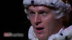 "Video of Jonathan Groff as King George III performing ""You'll Be Back"" from Hamilton Roi George, King George, Jonathan Groff Hamilton, Innocent Child, Still Picture, Colonial America, What Is Your Name, Lin Manuel Miranda, Film Music Books"