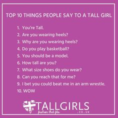 Benefits of dating a tall girl