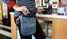 Betabrand Wholester at a coffee shop