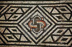 Free Mosaic Patterns | Royalty Free Stock Photos: Roman Mosaic Abstact Pattern