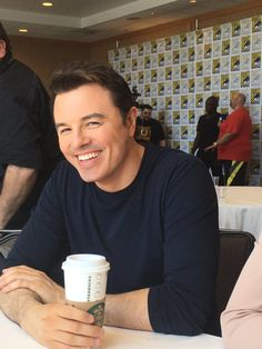 Oh Geez....that man and his smile.