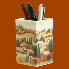 Square Cup | Autumn