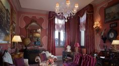The Ruskin Patron Grand Canal Suite Living Room @ Gritti Palace, a Luxury Collection Hotel, Venice, Italy