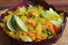 Indian style farm salad -- goodness and greens from farm to your table http://onceuponasupper.com/indian-farm-salad/