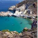 """Milos, Greece: """"Milos is a lovely, lesser-known island close to Santorini...Go late September or early October for empty beaches, weather that's still hot and accommodation and tours half the price of the August peak."""""""