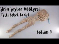 Telli Bebek Yapılışı - YouTube Crochet Amigurumi, Amigurumi Doll, Amigurumi Patterns, Crochet Dolls, Crochet Baby, Handmade Soft Toys, Handmade Crafts, Crochet Motifs, Crochet Patterns
