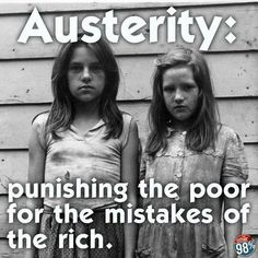 Sad...and we need to fix it!!!!  Austerity protests all over Europe today.