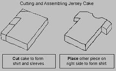 Football T-Shirt Cake Pear And Almond Cake, Almond Cakes, Cupcake Cakes, Cake Cookies, Cupcakes, Shirt Cake, Soccer Birthday, Zucchini Cake, Making Shirts