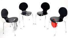 Stop Thieve Chair - brilliant design I think