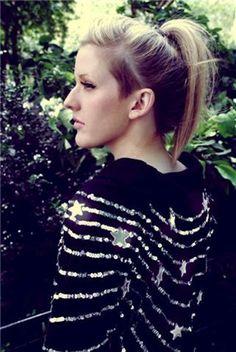 Ellie Goulding's hair-style !  very like