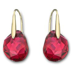 ad721ba5f Swarovski Red Galet earrings at Charlton Jewellers, Auckland, New Zealand  Swarovski Outlet, Swarovski