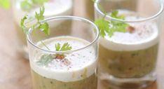 Verrine de caviar d'aubergine au lait de cocoVerrine de caviar d'aubergine au lait de coco