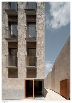 Pereda Perez Arquitectos. Edificio de viviendas, pamplona