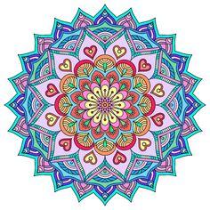 Pin By Etnia Design On Mandalas Mandalas Mandalas Flores Caricaturas
