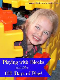 """Building with Blocks: 100 Days of Play! 