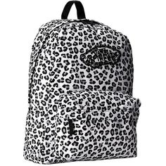Vans Realm Backpack ($32) found on Polyvore