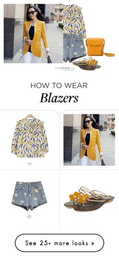 """""""Summer Style"""" by captainsilly on Polyvore featuring yeswalker and BeiBaoBao"""