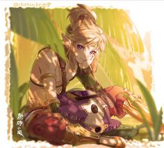 The Legend Of Zelda, Legend Of Zelda Memes, Legend Of Zelda Breath, Gerudo Link, Image Zelda, Shingeki No Bahamut, Link Art, Fanart, Link Zelda