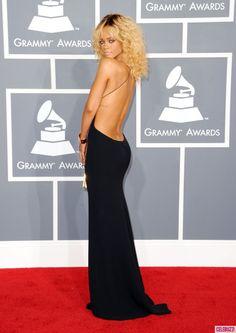 Rihanna in Armani, Grammy Awards 2012