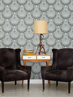 Lotus Present and Correct by Farrow & Ball http://www.wallpaperdirect.com/products/farrow-ball/lotus/98411