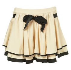Petite Paris Flippy Skirt - Topshop USA