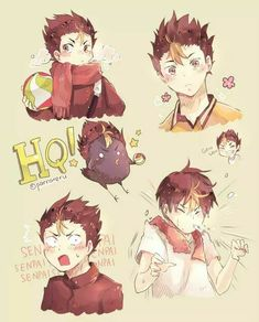 haikyuu nishinoya faces - Google Search